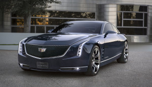 The new Cadillac Elmiraj Concept is a design vision for a four-seat coupe with presence and poise, 205-inches in length. Taking up from where the memorable Ciel Concept left off, Elmiraj is a statement of pure luxury and performance with a purposeful character and proportion.